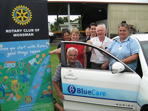 BlueCare Motor Vehicle Sponsorship