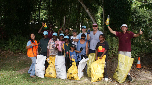 Great Northern Cleanup Mossman Gorge