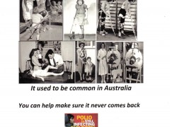 Do you remember Polio ?