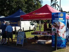 Rotary at the Port Douglas Markets
