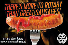 Rotary Sausage Sizzles are back!